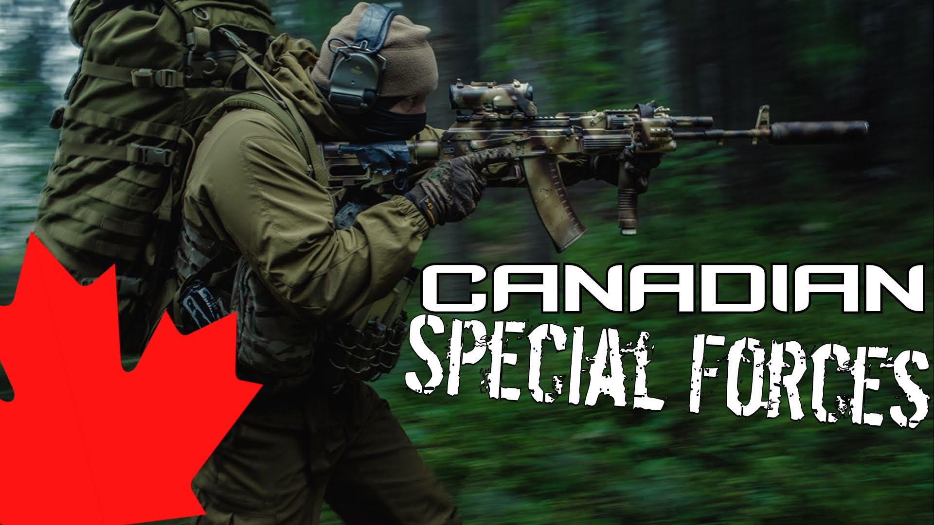 Canadian Special Operations Regiment Csor Selection Training
